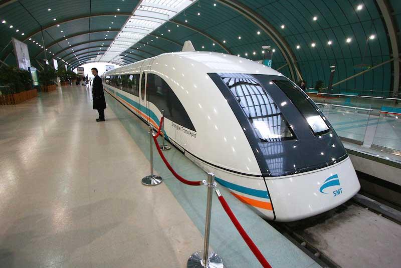 قطارهای ماگلو شانگهای