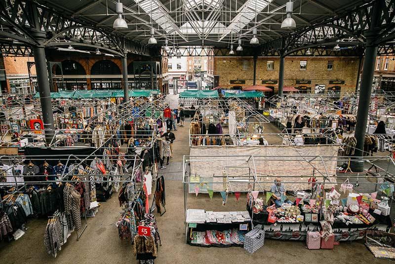اسپیتال فیلدز مارکت - بهترین مراکز خرید لندن