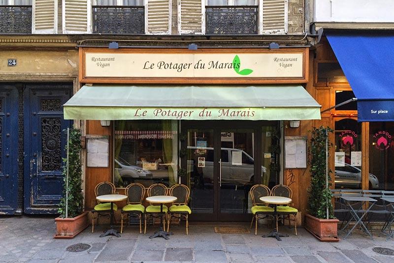 بهترین رستوران های گیاهی پاریس