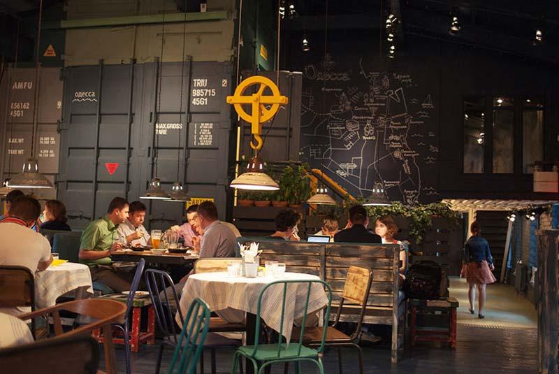 رستوران های مسکو