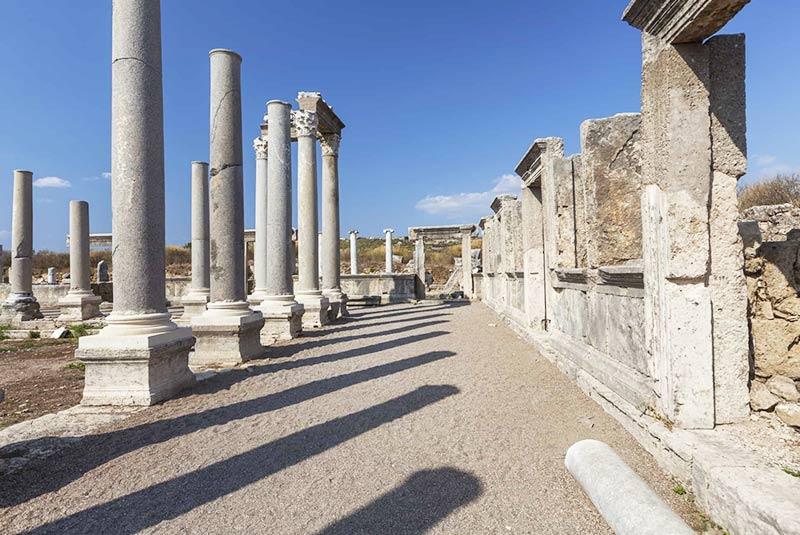 شهر تاریخی پرگه در آنتالیا