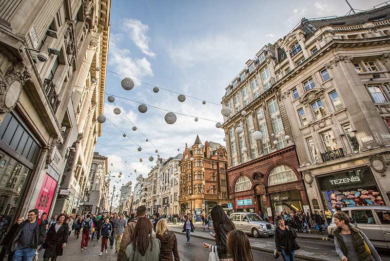 خیابان آکسفورد - بهترین مراکز خرید لندن