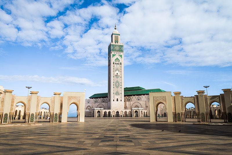 مسجد حسن دوم در کازابلانکا