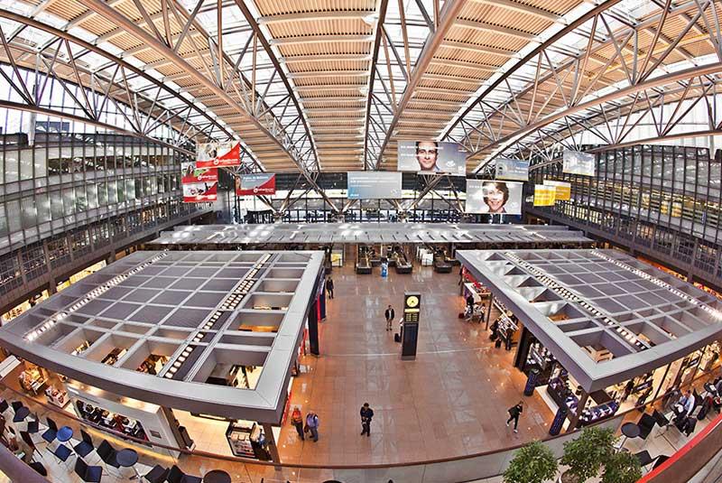 فرودگاه هامبورگ آلمان