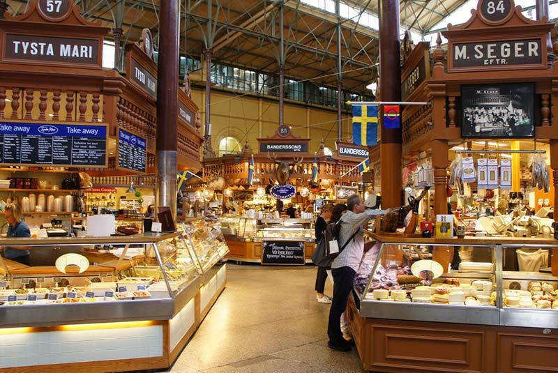 بازار اوسترمالم سالوهال در استکهلم