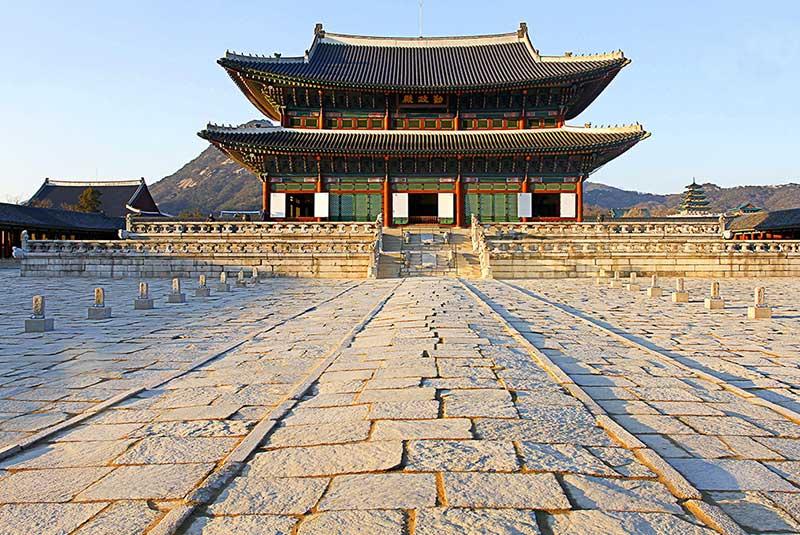 کاخ گیونگ بوک گانگ در سئول