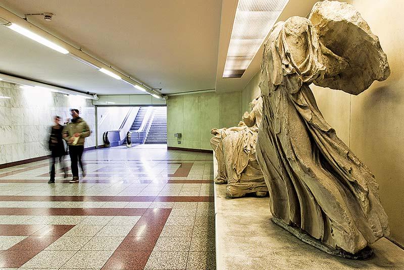 متروی موزه آکروپولیس آتن