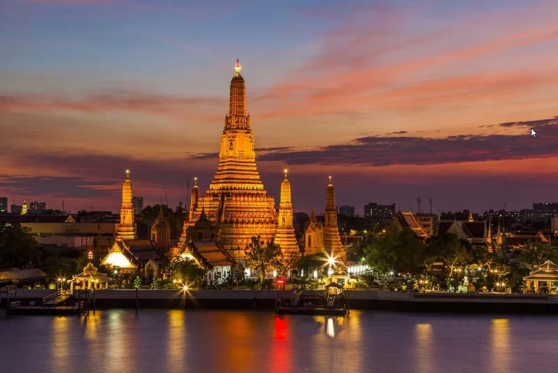 رود چائو پرایا در بانکوک