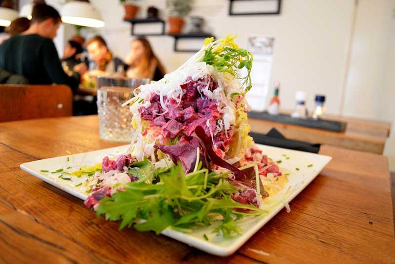 رستوران های گیاهی آمستردام