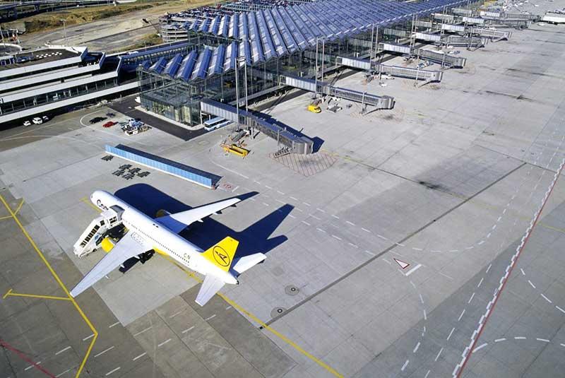 فرودگاه کلن بن آلمان