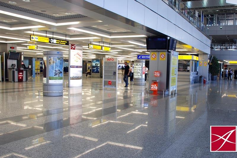 فرودگاه نیکولا تسلا بلگراد