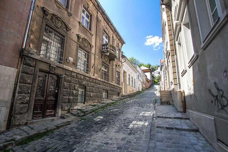 خیابان گول بابا بوداپست