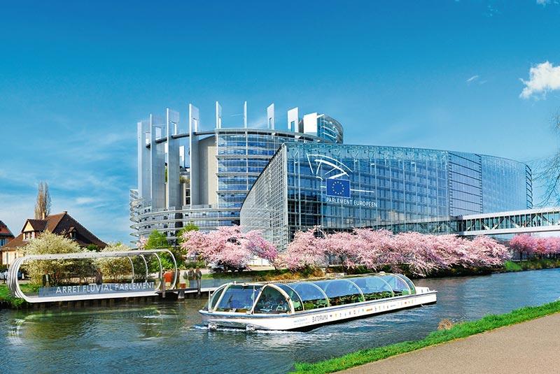 ساختمان پارلمان اروپا