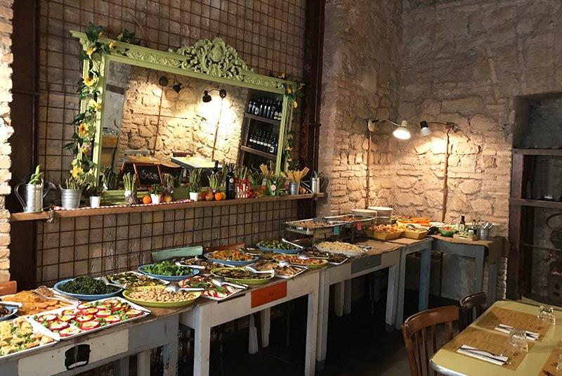رستوران های گیاهی رم