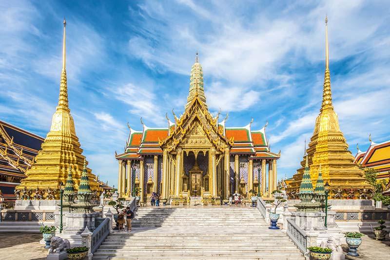 معبد بزرگ وات پرا کاو در بانکوک