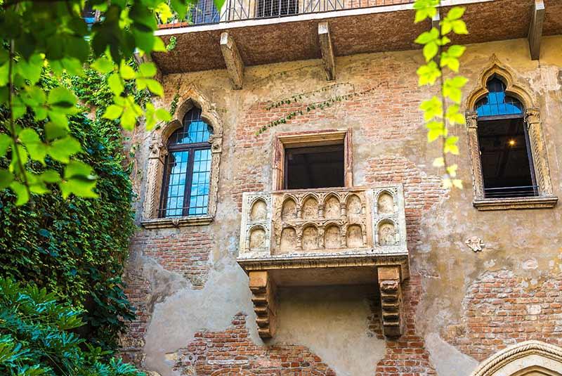 خانه ژولیت در ورونا ایتالیا