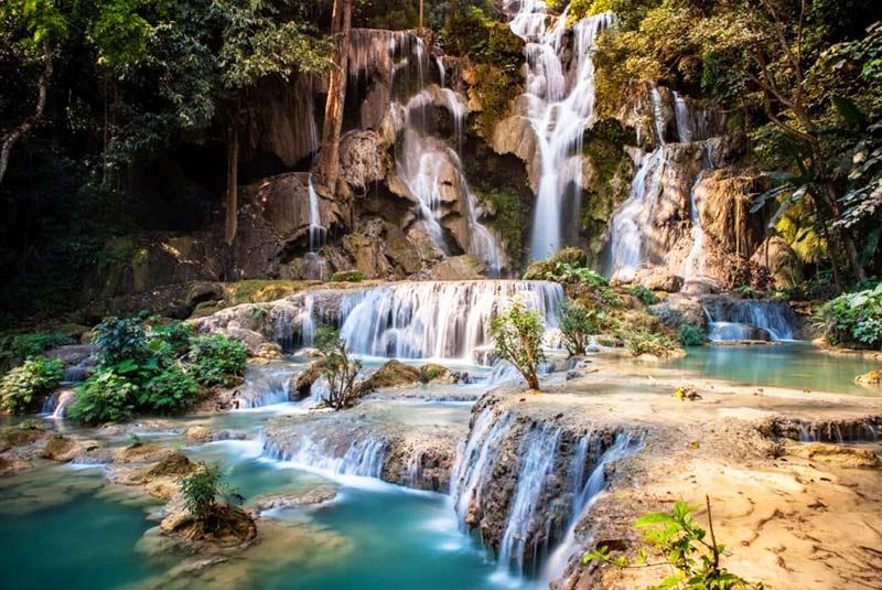 آبشار پورت گلاد در سیشل
