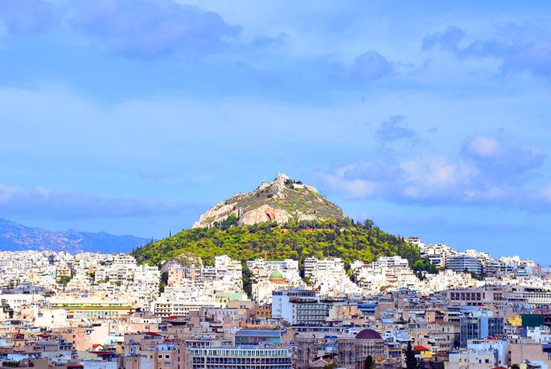 تپه لیکابتوس آتن
