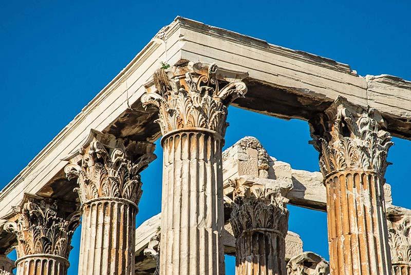 معبد زئوس در آتن یونان