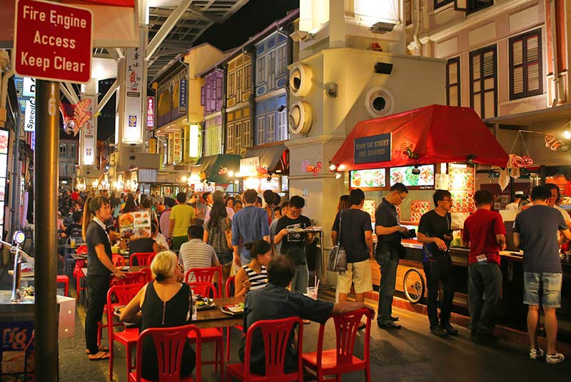 رستوران های سنگاپور