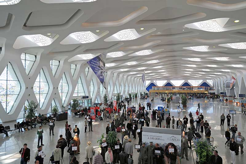 فرودگاه منارای مراکش