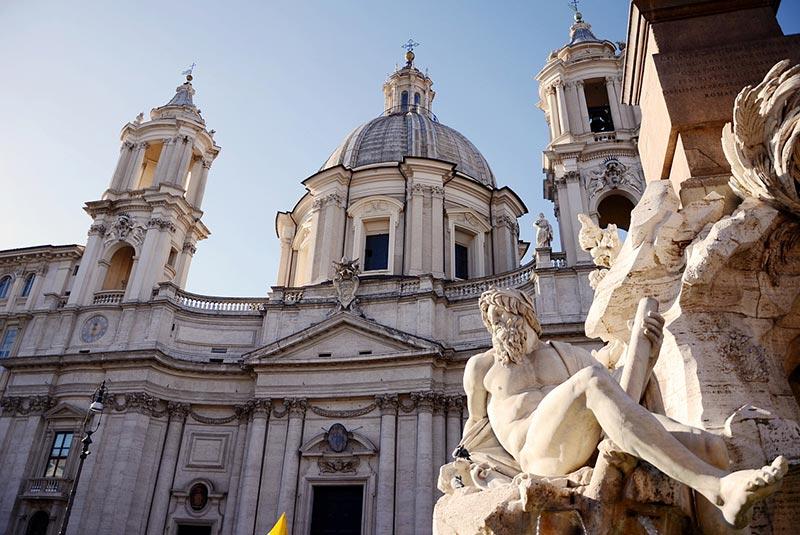 میدان ناوونا رم - کلیسای سنت آگنس
