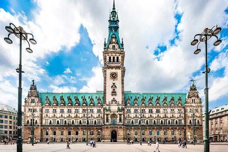 ساختمان شهرداری هامبورگ