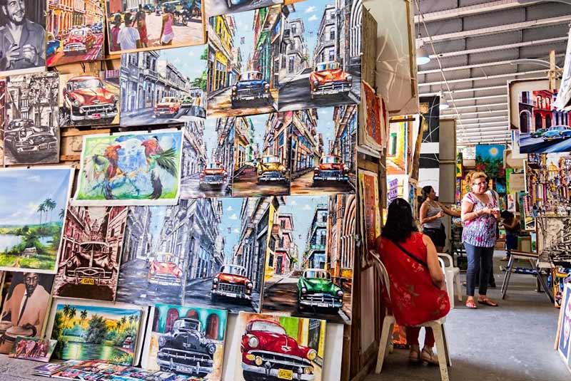 بازار سن خوزه هاوانا