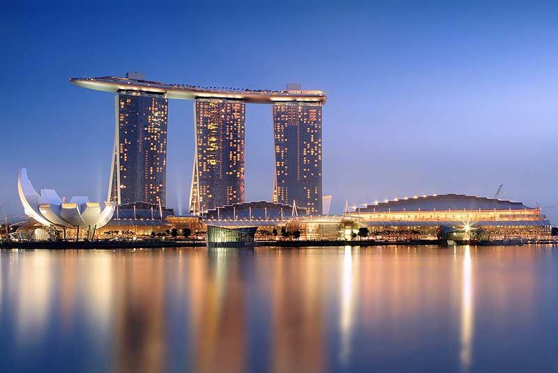مارینا بی سندز در سنگاپور