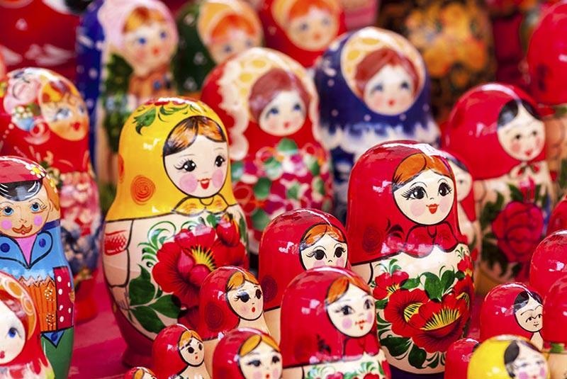 سوغات روسیه - ماتروشکا