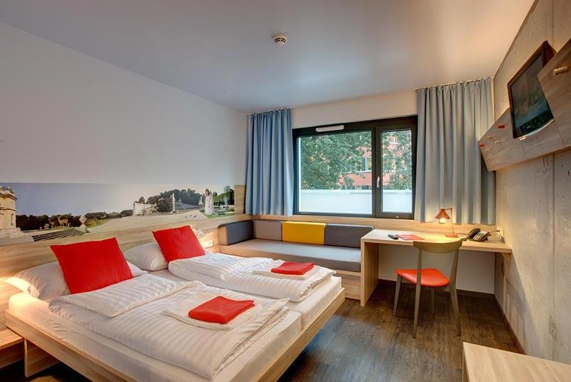 هاستل و هتل ارزان در وین