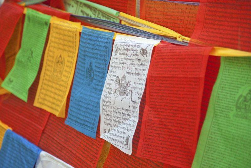 پرچم دعای تبتی