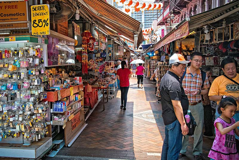بازارهای سنگاپور - مراکز خرید ارزان سنگاپور
