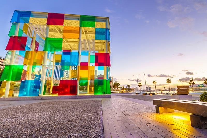 مرکز فرهنگی و هنری پمپیدو در مالاگا