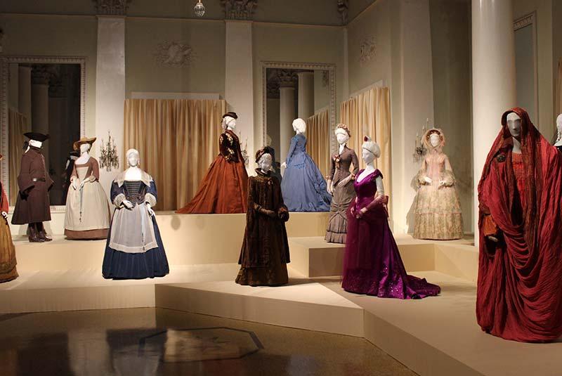کاخ پیتی در فلورانس - گالری لباس