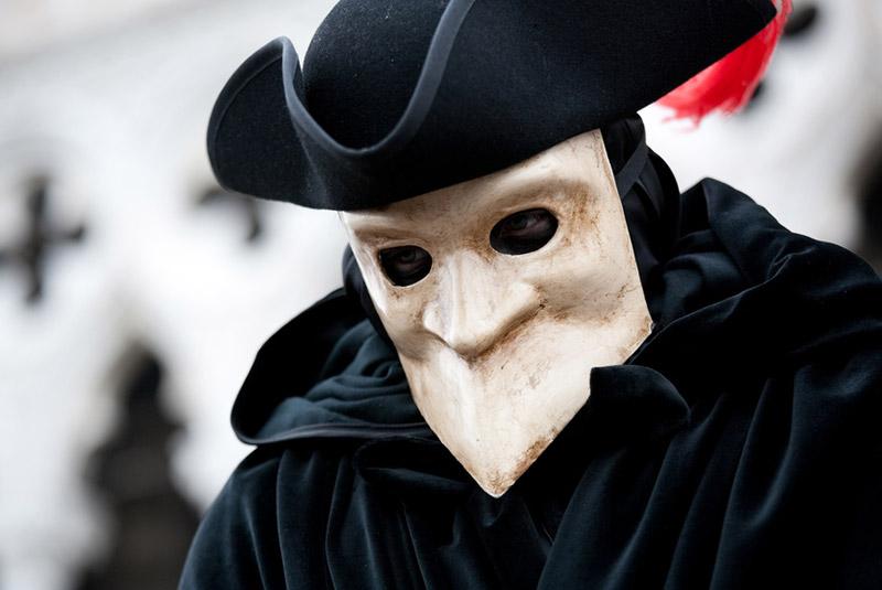 کارناوال ونیز - ماسک ها