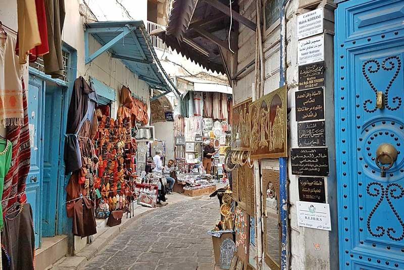 بازارهای شهر تونس