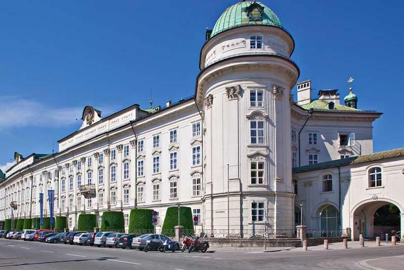 کاخ امپراطوری هوفبورگ در اینسبروک
