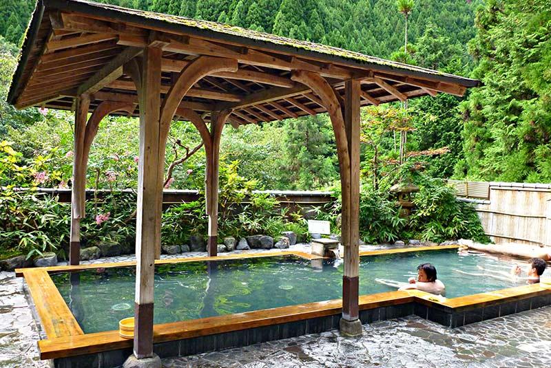 حمام های ژاپنی کیوتو