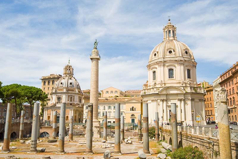 فروم تراژان در رم
