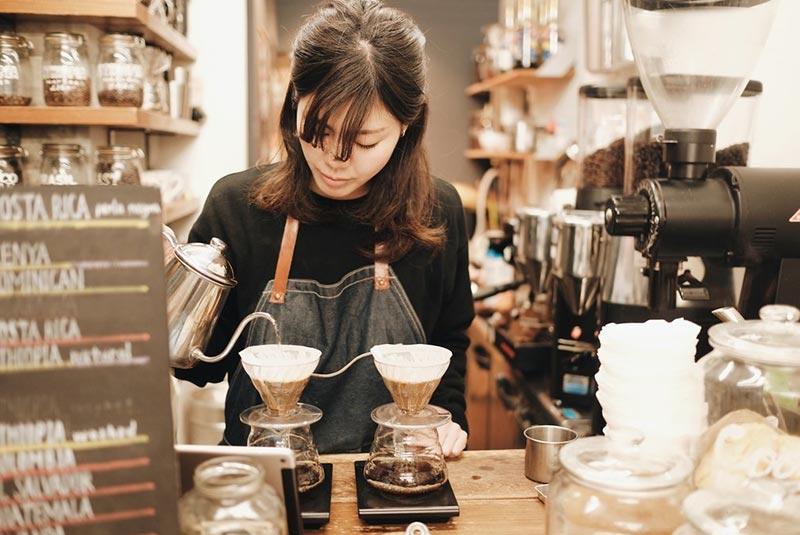 کافه و رستوران های اوزاکا