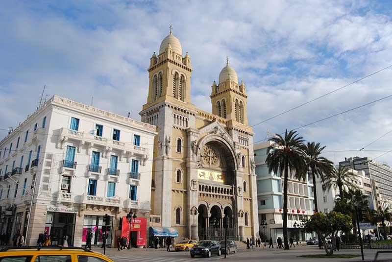 کلیسای سن ونسان دو پل در تونس