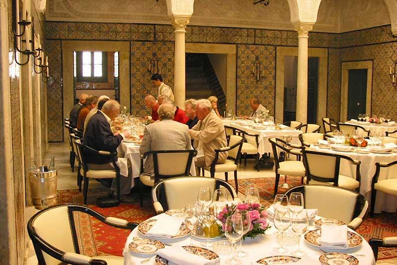 رستوران های شهر تونس