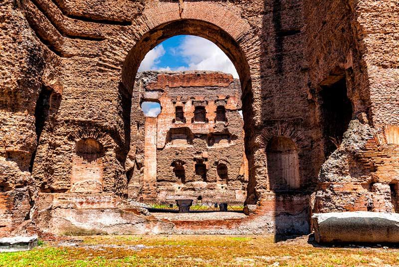 حمام های کاراکالا در رم