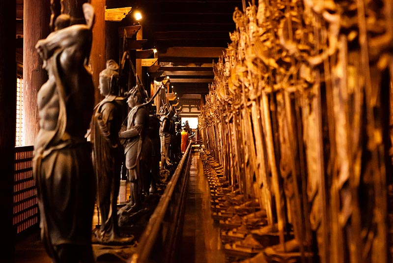 معبد سانجوسانجندو در کیوتو