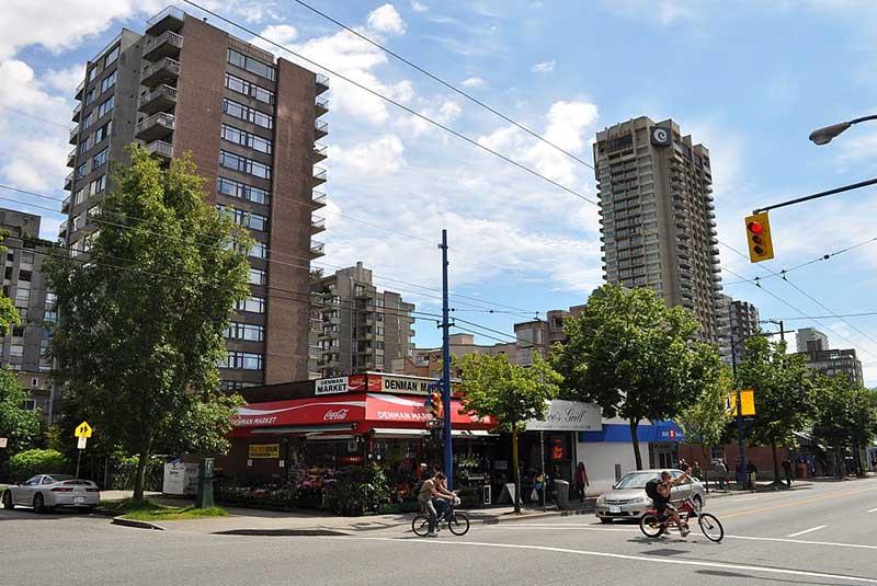 خیابان های ونکوور