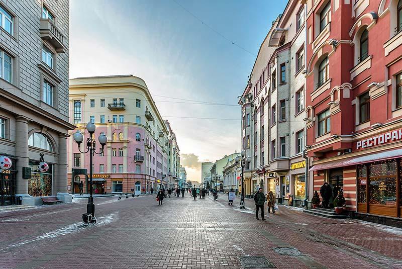 خیابان های مسکو