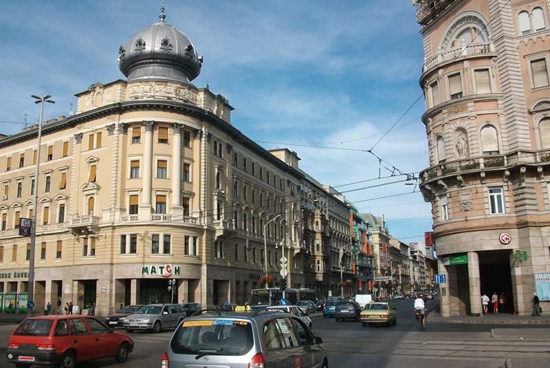 خیابان های بوداپست