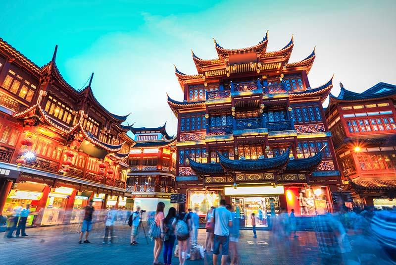 خیابان های شانگهای