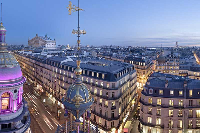 مرکز خرید پرنتام در پاریس